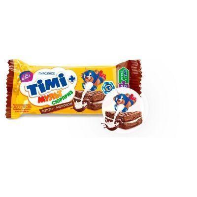 Пирожное Конти Тими какао с молоком