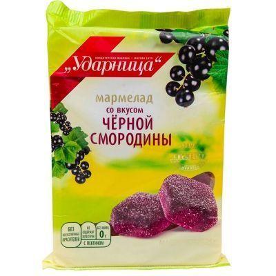 Мармелад Ударница Вкус Черной смородины