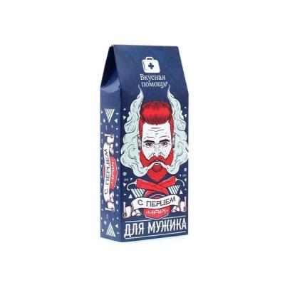 Чай Вкусная помощь 'Для Мужика' с перцем
