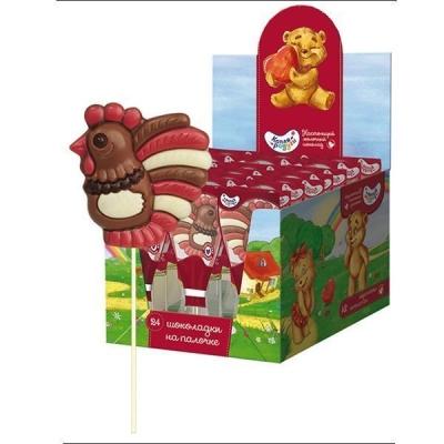 Шоколад молочный фигурный на палочке 'Капля Радуги' Коллекция №1