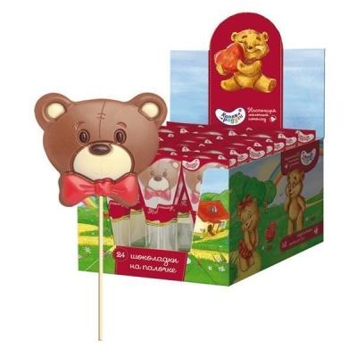 Шоколад молочный фигурный на палочке 'Капля Радуги'
