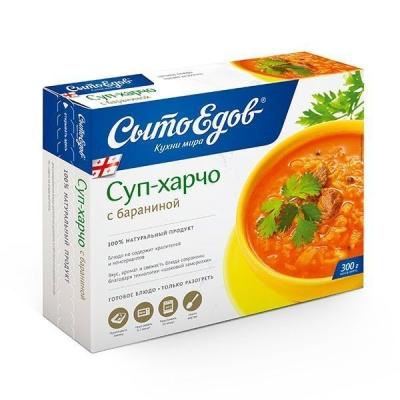 Суп Харчо с бараниной 'Сытоедов' замороженный (только разогреть)