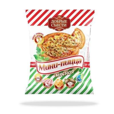 Мини-пицца с мясом