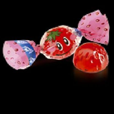 Конфеты Конти Живинка вкус клубника с йогуртом