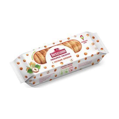 Печенье овсяное Любимый Край с лесным орехом