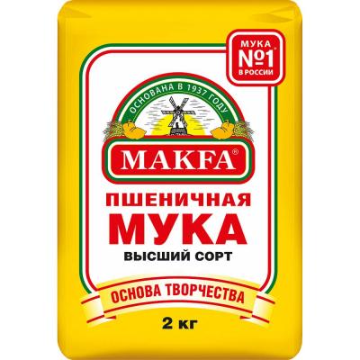 Мука Макфа пшеничная в/с