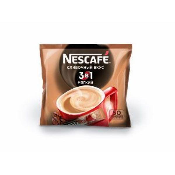 Кофе Нескафе 3 в 1 Мягкий Нестле