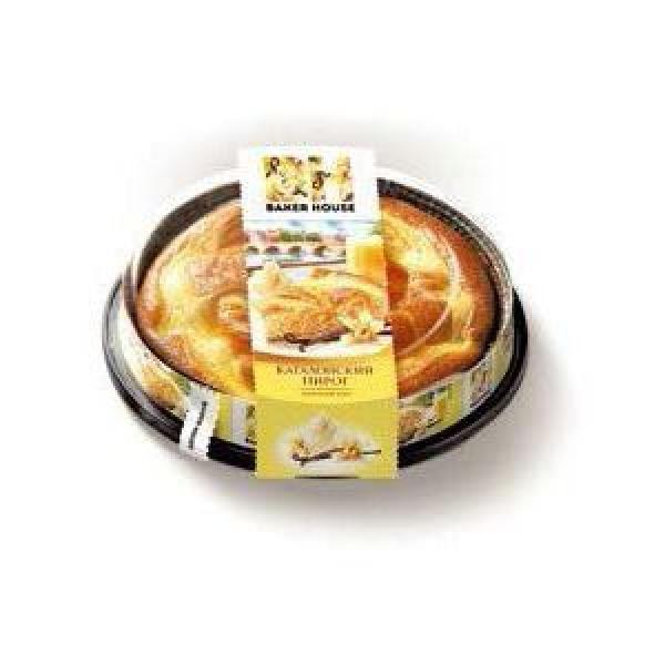 Пирог бисквит Baker House с кремовой начинкой ванильной Раменский