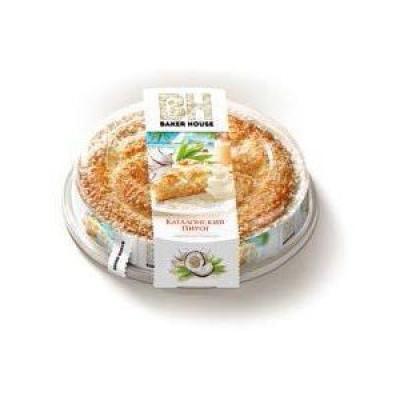 Пирог бисквит Baker House с кремовой начинкой кокосовой Раменский