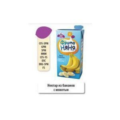 Нектар ФрутоНяня банановый с мякотью для детского питания