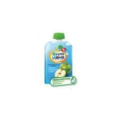 Пюре ФрутоНяня яблочное натуральное для питания детей раннего возраста