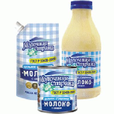 Молоко цельное сгущенное с сахаром Эрконпродукт Любимая Классика