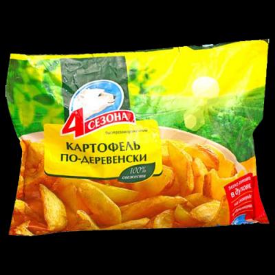 Картофель по-деревенски 4 сезона замороженный