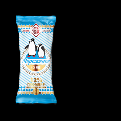 Мороженое Эскимо 'Беларускi пламбiр' ПИНГВИН