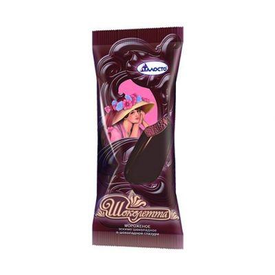 Мороженое Метелица Эскимо  Шоколетта шоколадное в шоколадной глазури