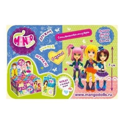 Зефир + игрушка Манго Girls 3 Fresh Toys