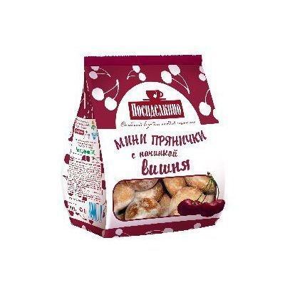 Пряники Любимый Край Классические мини с вишневой начинкой