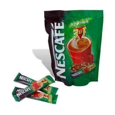 Кофе Нескафе 3 в 1 Крепкий Нестле