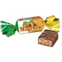 Конфеты Славянка Медунок с орехом