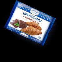 Круассаны LA Reine с шоколадом замороженные