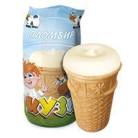 Мороженое РосФрост КУЗЯ ванильный Стакан