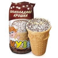 Мороженое РосФрост КУЗЯ ванильный с шоколадной крошкой Стакан