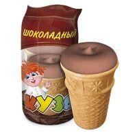 Мороженое РосФрост КУЗЯ шоколад Стакан