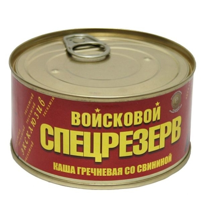 Каша гречневая со свининой Войсковой Спецрезерв, ГОСТ