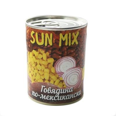 Говядина по-мексикански Sun Mix, ГОСТ