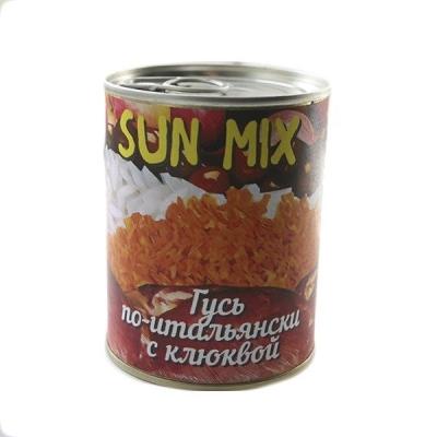 Гусь по-итальянски с клюквой Sun Mix