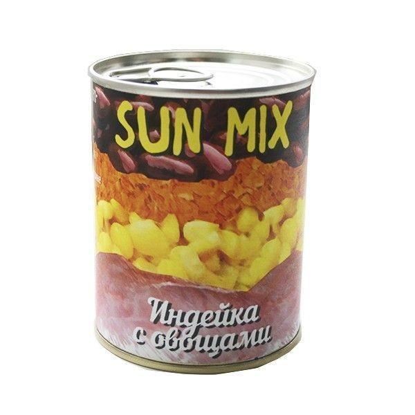 Индейка с овощами Sun Mix
