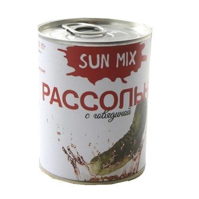 Рассольник с говядиной Sun Mix