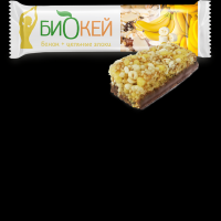 Батончик Савинов Биокей с бананом и цельными злаками