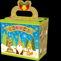 Кондитерский набор Савинов «Забавные гномы» в художественной упаковке (конфеты, печенье)