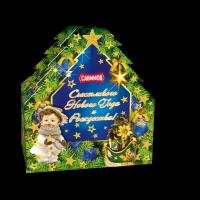 Кондитерский набор Савинов Елочка Винтаж в художественной упаковке (конфеты, печенье)