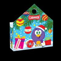 Кондитерский набор конфет Савинов Новогодняя кормушка  в художественной упаковке