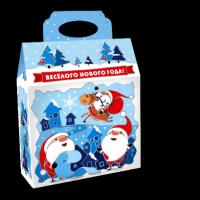 Кондитерский набор Савинов Сумка Сказочный Городок  в художественной упаковке (конфеты, печенье)