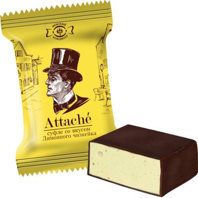 Конфеты Невский кондитер Атташе со вкусом десерта Лимонный чизкейк