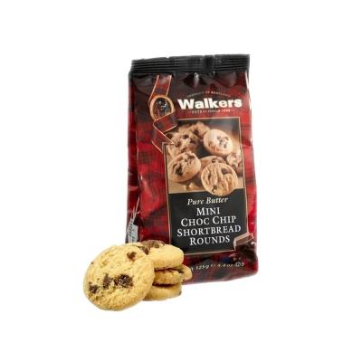 Мини-печенье песочное 'Walkers' Круглое и с шоколадной крошкой