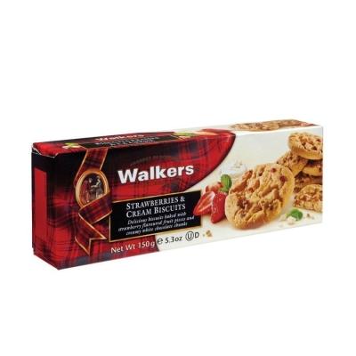 Печенье 'Walkers' Клубника со сливками