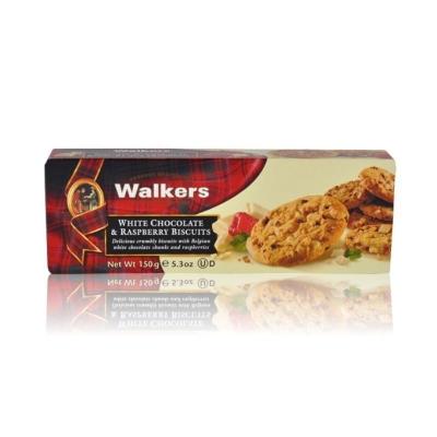 Печенье 'Walkers' Белый шоколад и малина
