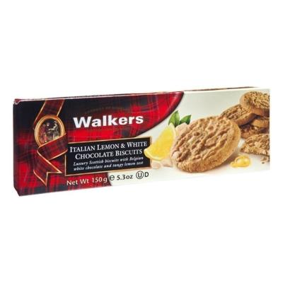 Печенье 'Walkers' Итальянский лимон и белый шоколад