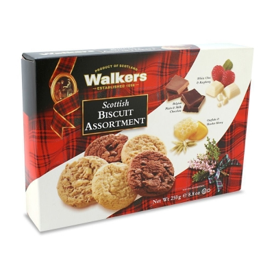 Печенье 'Walkers' Шотландское ассорти из 3 видов печенья