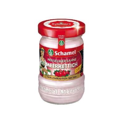 Хрен 'Schamel' с брусникой и сливками