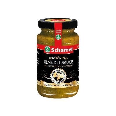 Соус на основе хрена и горчицы 'Schamel' с укропом