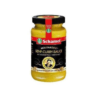Соус на основе хрена и горчицы 'Schamel' с карри