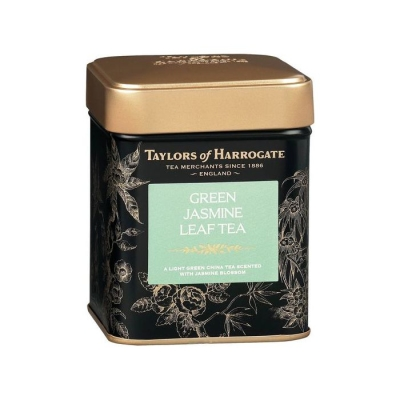 Чай зеленый листовой 'Taylors of Harrogate' с цветками жасмина