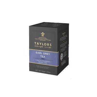 Чай черный 'Taylors of Harrogate' Эрл Грей с ароматом бергамота 20 пак.
