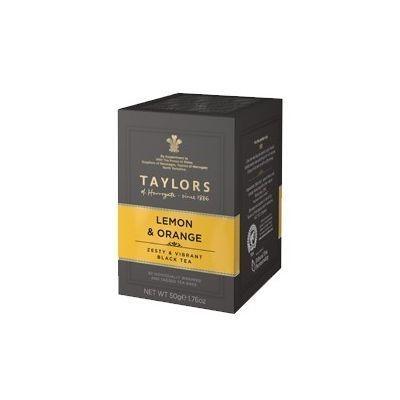 Чай черный 'Taylors of Harrogate' с ароматом лимона и апельсина  20 пак.