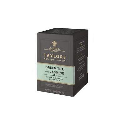 Чай зеленый 'Taylors of Harrogate' с цветками жасмина  20 пак.